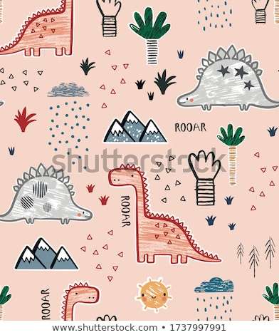 archeology flat pattern stock photo © netkov1