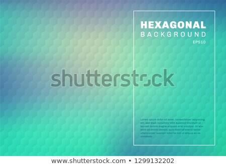 синий шестиугольник вектора иллюстрация текстуры свет Сток-фото © cidepix
