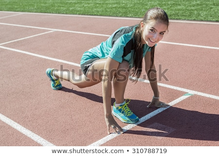teen who is ready to workout stock photo © lopolo