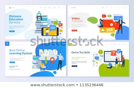 vergrootglas · vraag · abstract · teken · web - stockfoto © -talex-