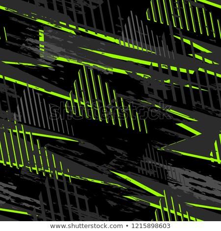 Zielone bezszwowy geometryczny wzór jasne grafiki streszczenie Zdjęcia stock © ExpressVectors