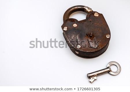 Brass Padlock Stock photo © restyler