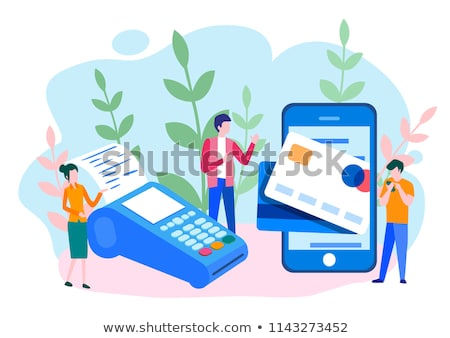Check Cash Device isometric icon vector illustration Stock photo © pikepicture