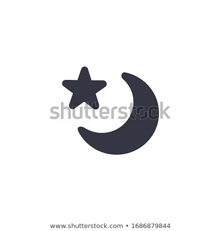 Religios stea semiluna Lună Imagine de stoc © kyryloff