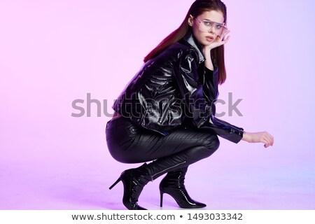女性 · ダンス · ハイヒール · スタジオ · ダンサー · 立って - ストックフォト © morrbyte