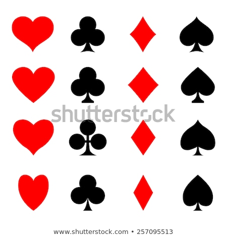 Diamond Card suits shapes  Stock photo © Arsgera