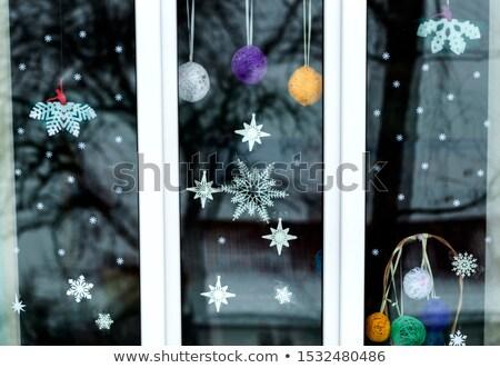 Window Decoration Stock photo © manfredxy