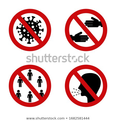 red vector signs stock photo © olira