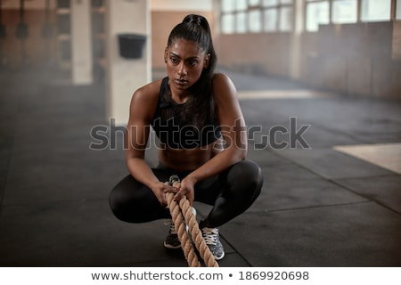 a woman resting after fitness stock photo © photography33