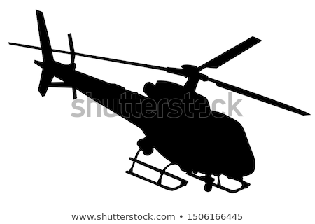 Helicopter silhouettes Stock photo © vadimmmus