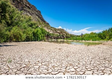 Rio cama pedras córrego Foto stock © chris2766