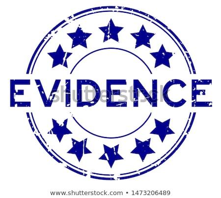 bizonyíték · pecsét · fehér · bélyeg · bíró · gumi - stock fotó © ruslanomega
