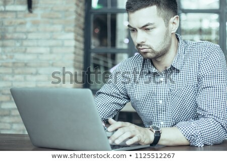 Pensive male student Stock photo © photography33