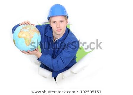 artesano · mundo · hombre · construcción · trabajo - foto stock © photography33