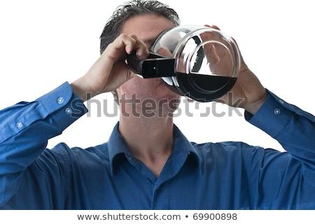 Coffee Drinker Stock photo © cboswell