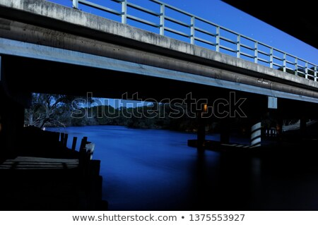 River under a bridge Stock photo © xedos45