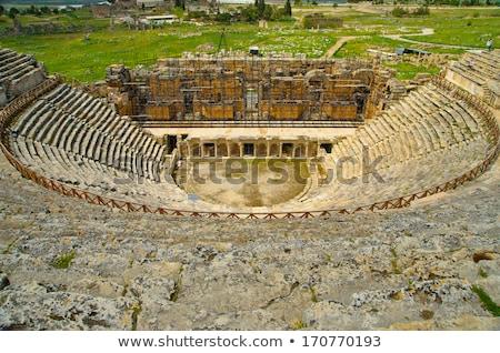 ősi · romok · építkezés · művészet · utazás · kő - stock fotó © wjarek