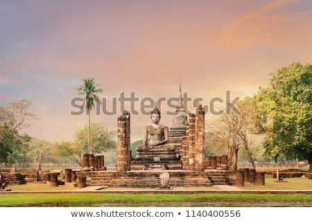 storico · parco · città · vecchia · Thailandia · acqua · albero - foto d'archivio © prajit48
