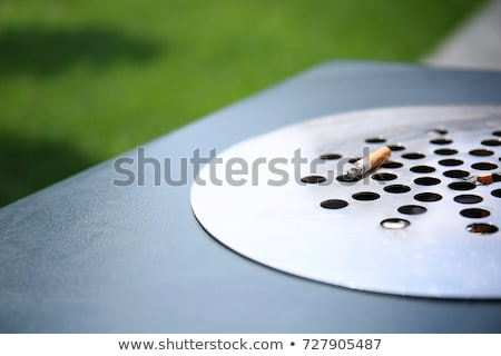 Cigarette disposal bin Stock photo © trgowanlock