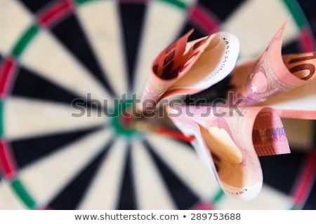 Hitting the Bulls-Eye - Euro Stock photo © iqoncept