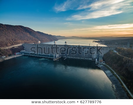 Hydroelectric power station Stock photo © 5xinc