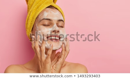 Stock photo: skin cleanse concept