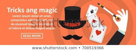 Conjurer icons Stock photo © Alegria111
