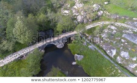 Panchorra bridge Stock photo © homydesign