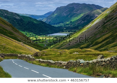 Lake district Inghilterra panorama lago Europa silenzio Foto d'archivio © phbcz