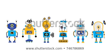 Robots Banner Stock photo © naffarts