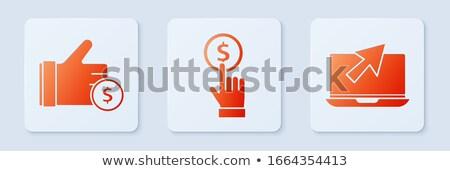 доходы кнопки стороны курсор интернет деньги Сток-фото © tashatuvango