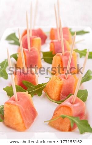 メロン プロシュート 食品 お祝い ダイエット 健康 ストックフォト © M-studio