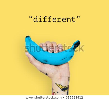 pensar · diferente · dirección · idea · nuevos · creativa - foto stock © marinini