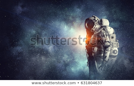 uzay · uçan · robot · dizayn · teknoloji · alev - stok fotoğraf © blamb