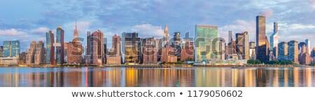 国連 日の出 ニューヨーク市 景観 ストックフォト © dgilder