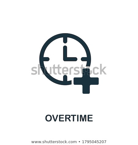 OVERTIME Stock photo © chrisdorney