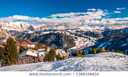 Dolomiti - hiking in Badia Valley Stock photo © Antonio-S