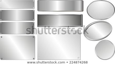 Ezüst fogkő sötét fából készült deszkák textúra Stock fotó © mtmmarek