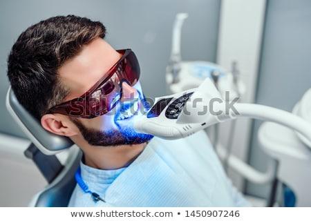 Whitening teeth Stock photo © smuki