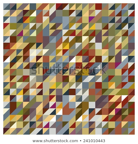 abstract earth tone triangle background illustration stock photo © enterlinedesign