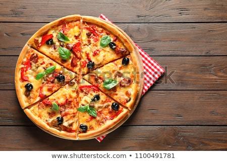 Pizza toppings Stock photo © sahua