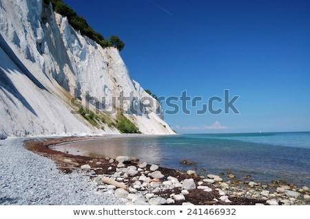 チョーク 崖 詳細 ビーチ ヨーロッパ 海岸 ストックフォト © Arrxxx