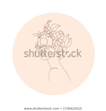 肖像 美しい 女性 カメラマン 白 幸せ ストックフォト © wavebreak_media