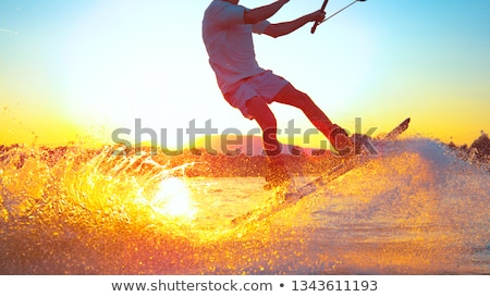 wakeboarder stock photo © smuki