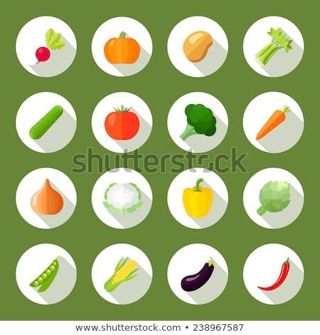 wiosną · ogrodnictwo · kolorowy · ikona · charakter · zestaw - zdjęcia stock © anna_leni