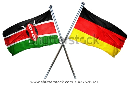 Germany and Kenya Flags Stock photo © Istanbul2009
