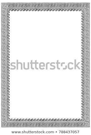Meander, vintage engraving Stock photo © Morphart
