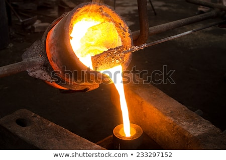 Hot molten iron  Stock photo © mady70