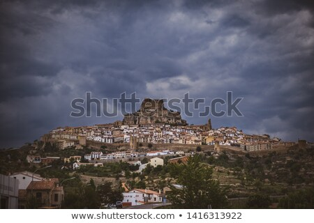 castello · Spagna · artistico · storico · importanza · comunità - foto d'archivio © amok