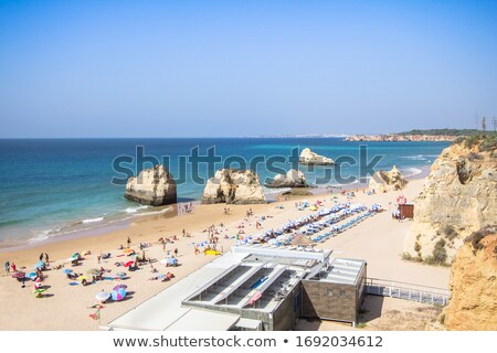 Praia Del Rei, Portugal Stock photo © homydesign